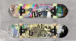 Illustrazioni per tavole da skateboard