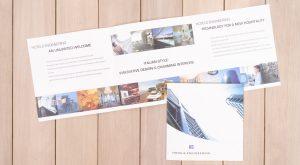 Promo Comunicazione depliant per Hotels Engineering