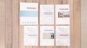 Protecno Padova depliant, flyer, manuale, raccoglitore