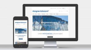 Protecno Padova sito internet per prodotto Magnesiaboard