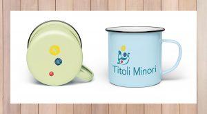 Titoli Minori proposta gadget: tazze