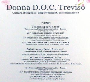 Donna D.O.C. a Treviso, locandina
