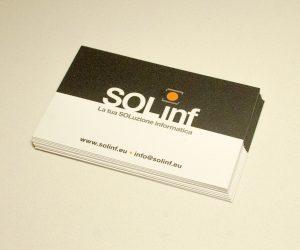 SOLinf biglietti da visita