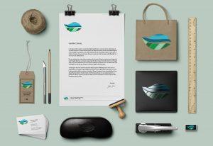 Terramaris proposta materiale coordinato brand