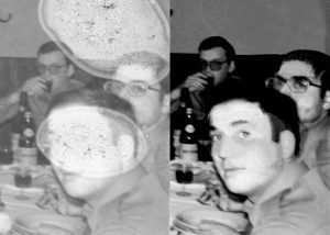 Restauro polaroid