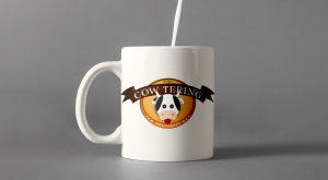 Cow-Tering tazza personalizzata