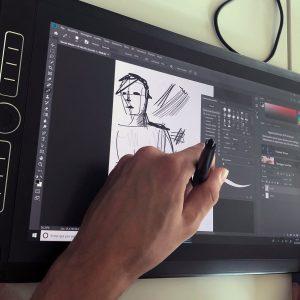 Wacom e Mobile Studio Pro con Sketch