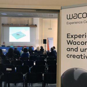 Wacom presso IIS Ruzza di Padova