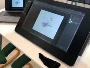 Wacom Ergo Stand e MacBook Pro